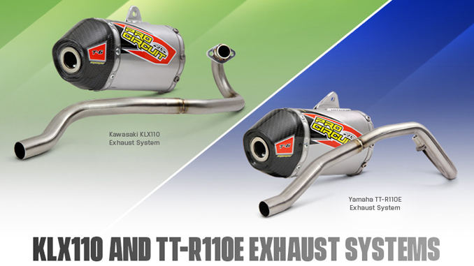New Products- Pro Circuit KLX110 and TT-R110E Exhaust Systems [678]