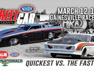 Tom Bailey to take on Rod Tschiggfrie in NHRA Street Car Showdown at Gatornationals [678]