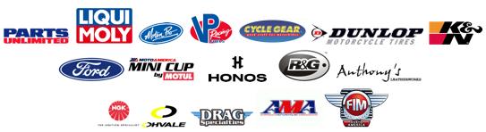 MotoAmerica sponsors