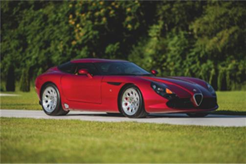 2010 Alfa Romeo TZ3 Stradale Zagato