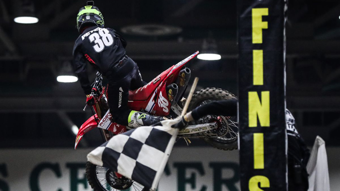 202010 Phoenix Racing Honda Team Rider Kyle Peters wins the 450 Pro Sport Main on Friday in Reno (Photo- Jack Jaxson) [678]