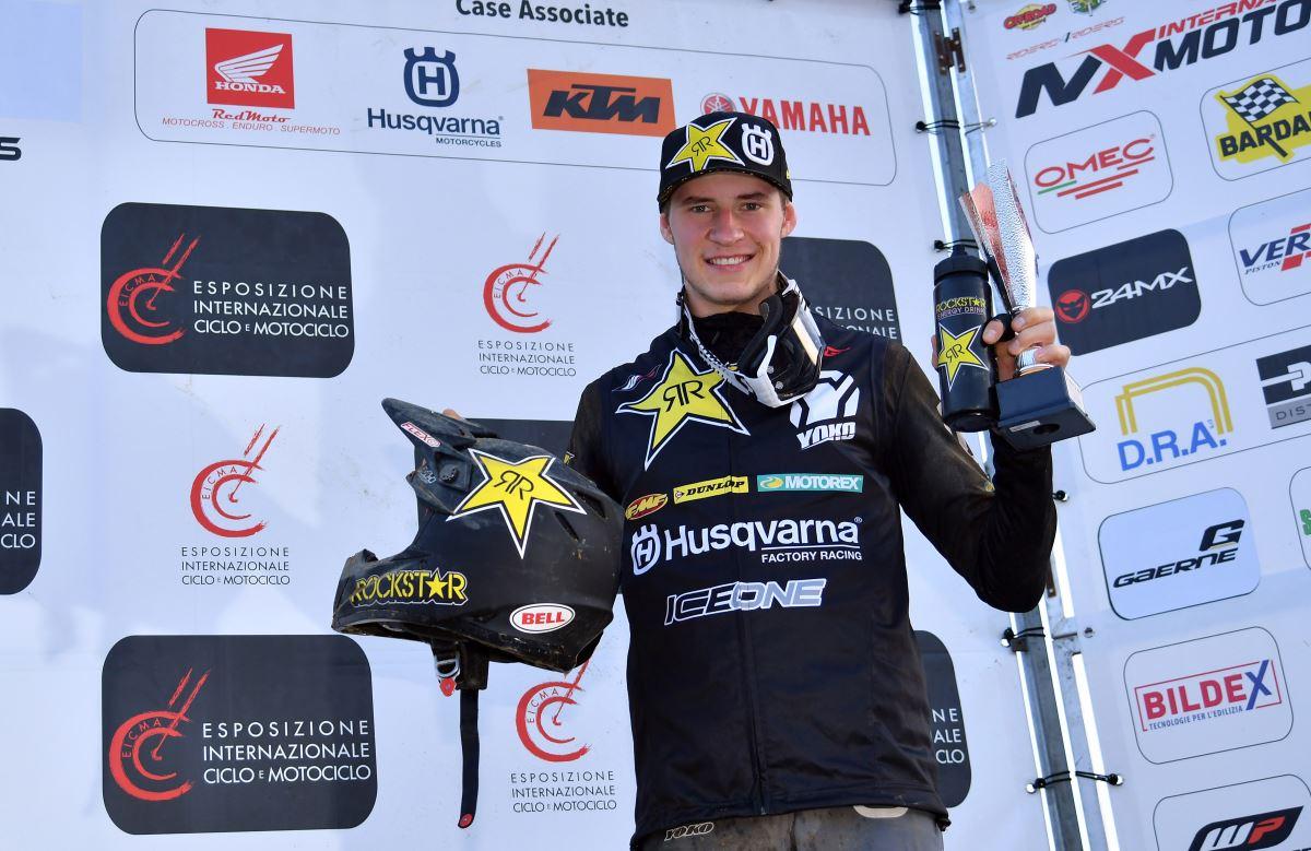 Arminas Jasikonis – Rockstar Energy Husqvarna Factory Racing - Internazionali d' Italia MX series round 2 [2]