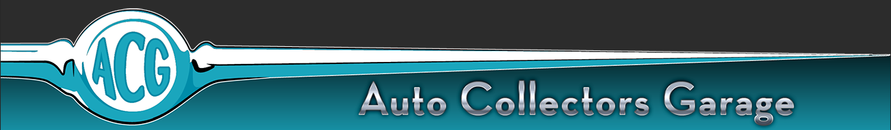 Auto Collectors Garage banner
