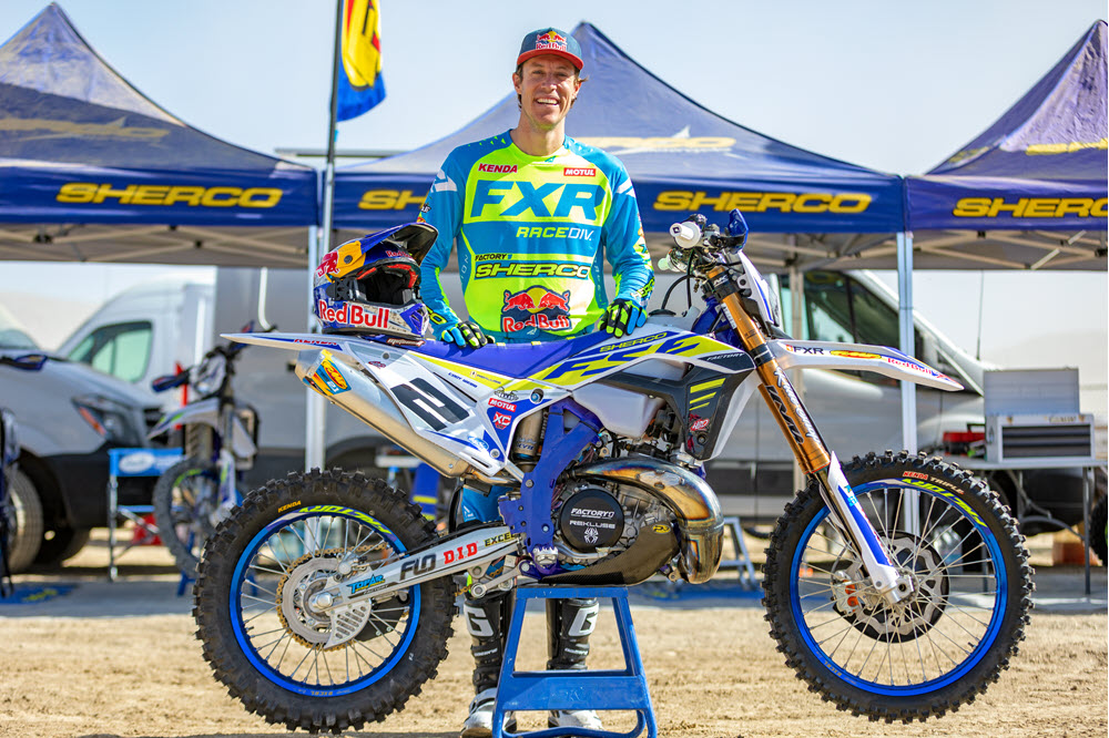 Cody Webb, the three time AMA EnduroCross champion