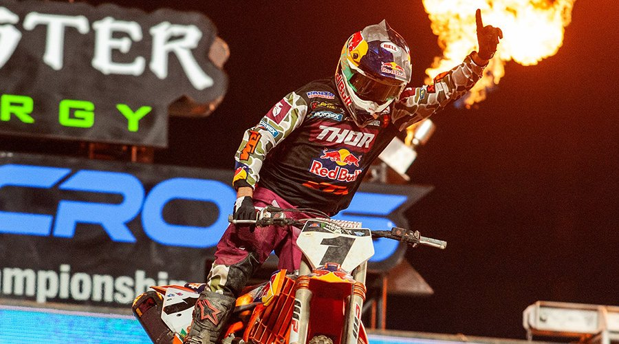 Defending Champion Cooper Webb Takes First 450SX Class Win of 2020