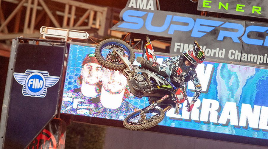 Dylan Ferrandis grabbed his third win in six races in San Diego