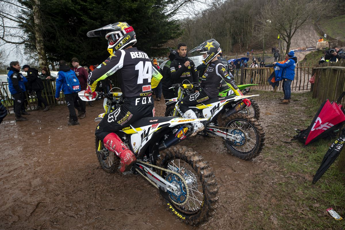 Jed Beaton, Kay de Wolf - Rockstar Energy Husqvarna Factory Racing - Hawkstone International [3]