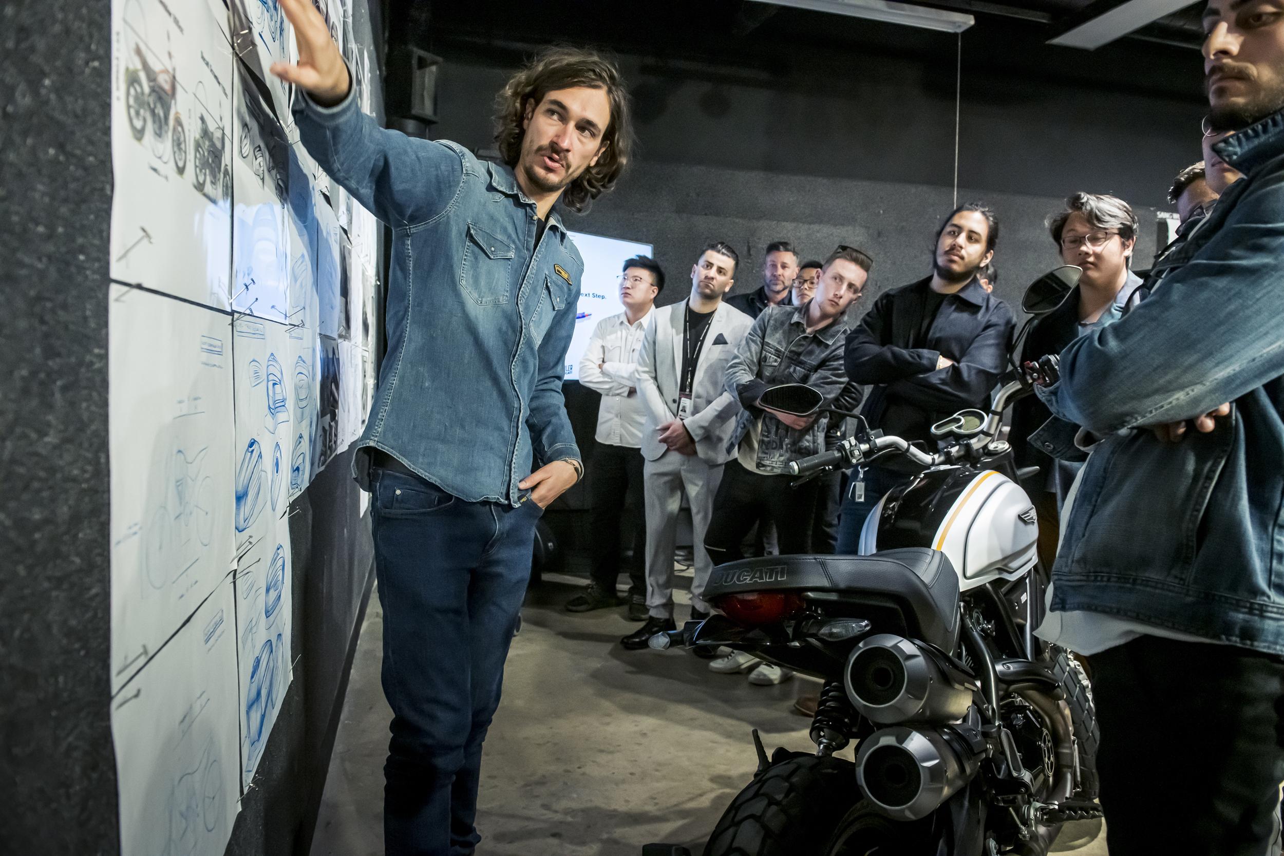 Jeremy Faraud (Ducati Centro Stile Designer) [5]