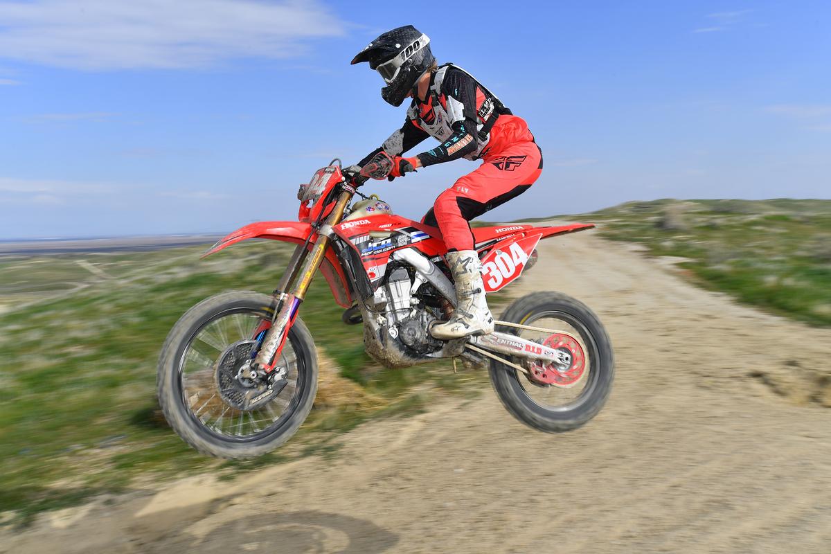 Preston Campbell - JCR Honda