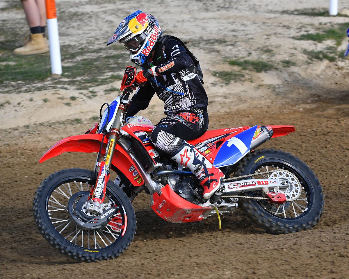 Tarah Gieger - JCR Honda