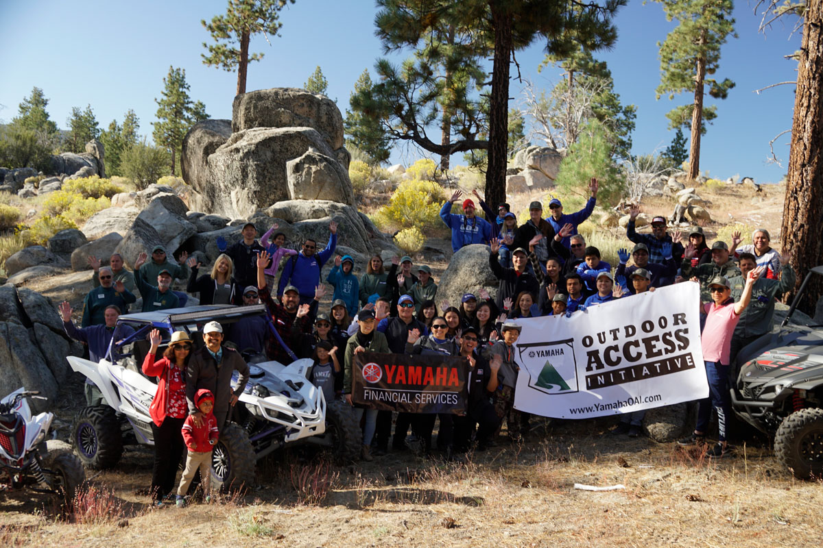 Yamaha employees have volunteered for OAI events in Southern California for more than 10 years.