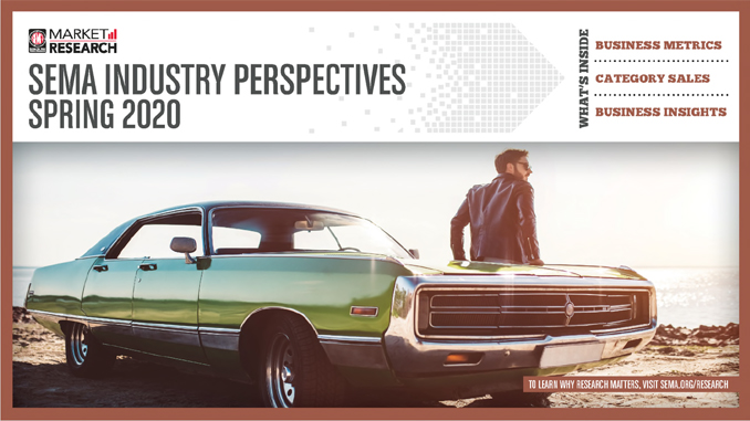 200303 The new SEMA Industry Perspectives Report provides insight on the health of the automotive aftermarket industry [678]