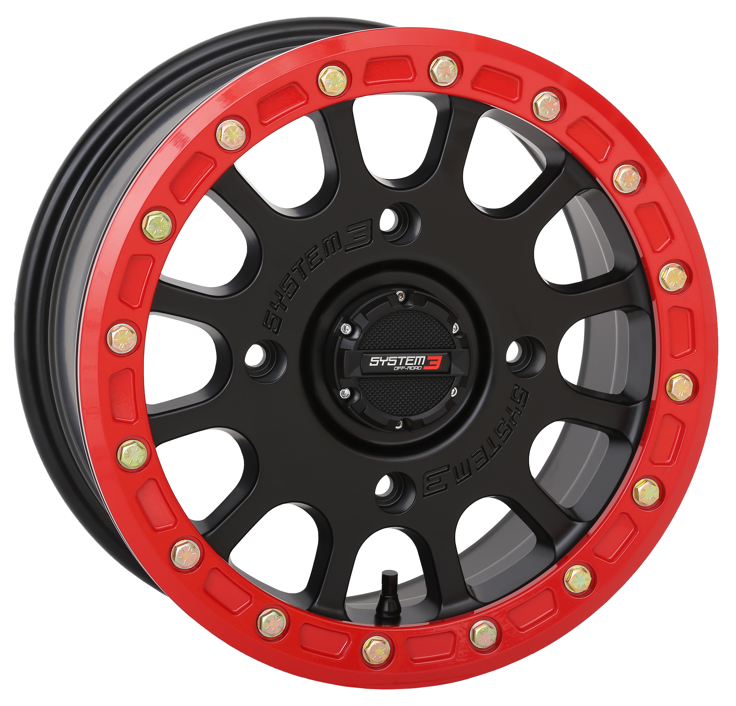 200304 System 3 SB-5 Black red ring
