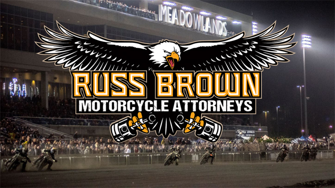 Russ Brown Motorcycle Attorneys and American Flat Track Renew Partnership for 2020 [678]