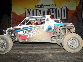 200310 Polaris RZR factory racer Branden Sims finishes first in Pro Turbo class at Mint 400. Photo - Harlen Foley [678]