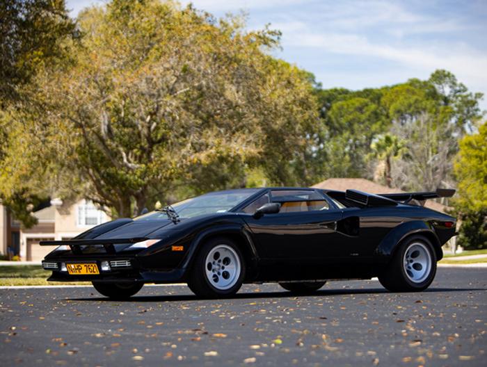 1983 Lamborghini Countach LP 5000S by Bertone (Credit – Ravi Angard © 2020 Courtesy of RM Auctions)