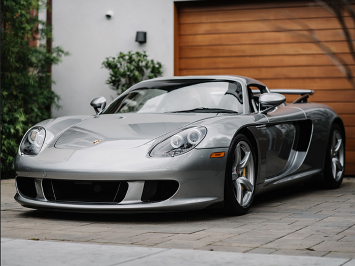 2005 Porsche Carrera GT (Credit – Courtney Cutchen © 2020 Courtesy of RM Auctions)