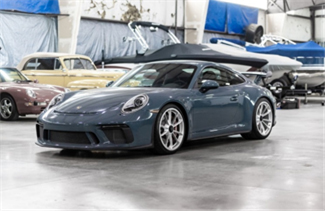 2018 Porsche 911 GT3 (Credit – Charles Uibel © 2020 Courtesy of RM Auctions)