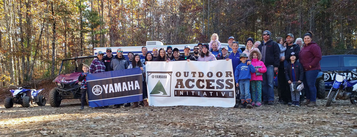 Yamaha employees volunteered at an OAI event in Georgia in 2019