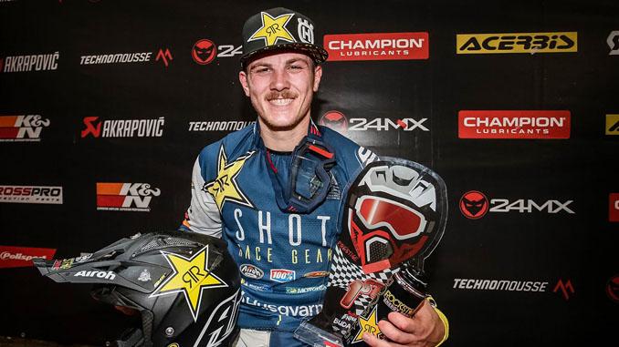 Rockstar Energy Husqvarna Factory Racing - Billy Bolt 2020 SuperEnduro World Champion (678)