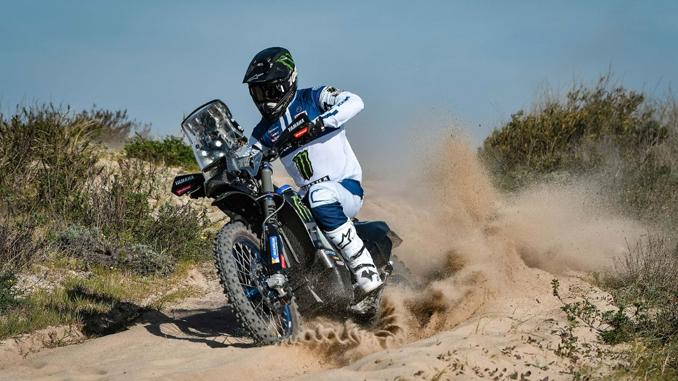 Monster Energy Yamaha Rally Official Team's New Recruit Andrew Short (678)