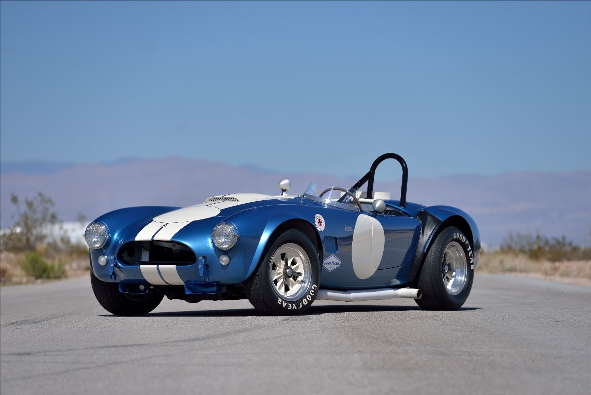 CSX2487- An independent competition Cobra with a very impressive racing career