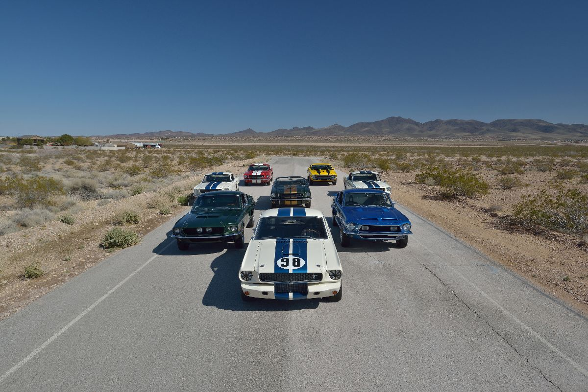 John Atzbach's extraordinary collection of Shelby Mustangs