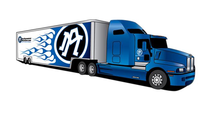 Performance Machine Rally-Truck [678]