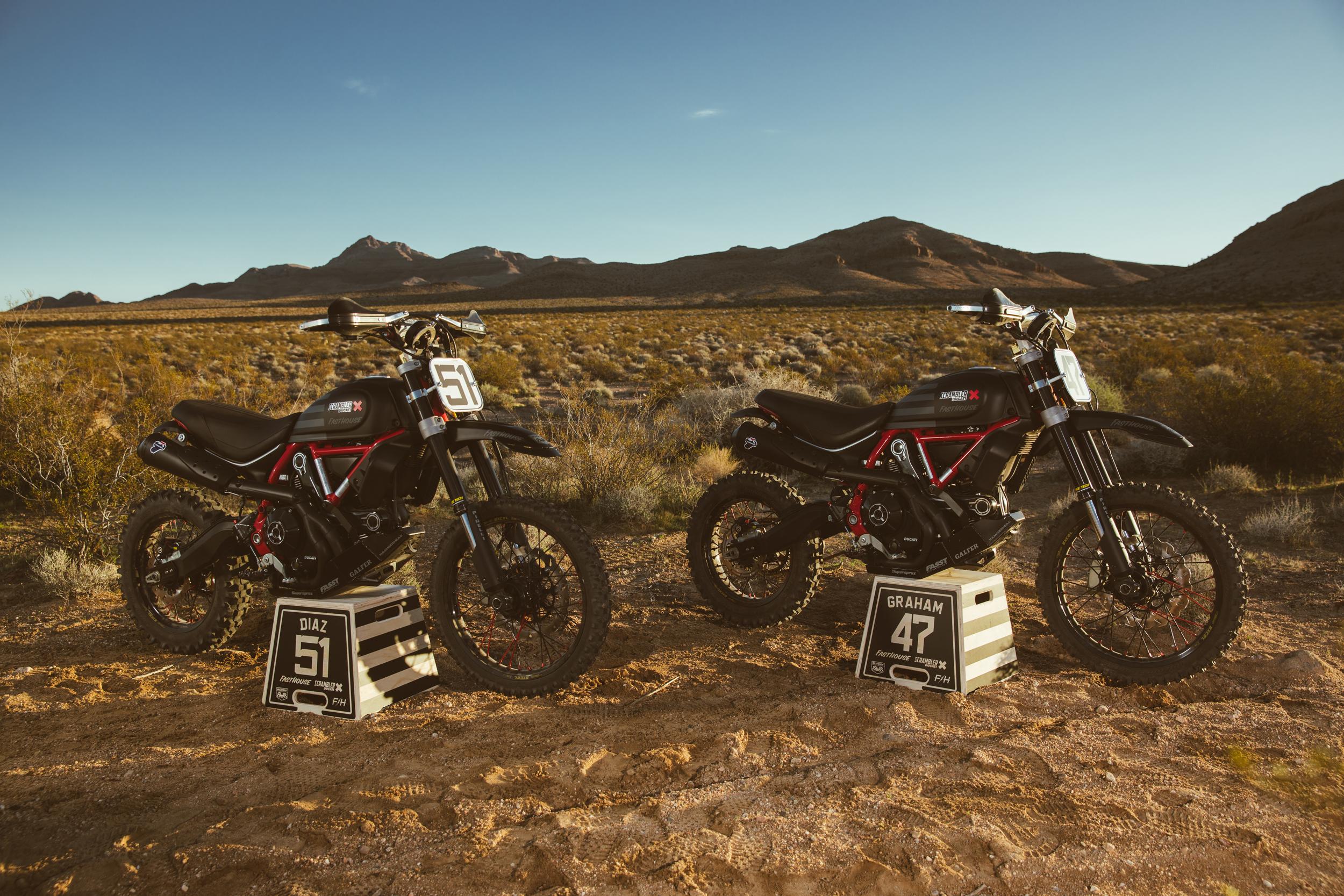 Scrambler Ducati Desert Sled Dominates Inaugural Mint 400 Hooligan Class [1]