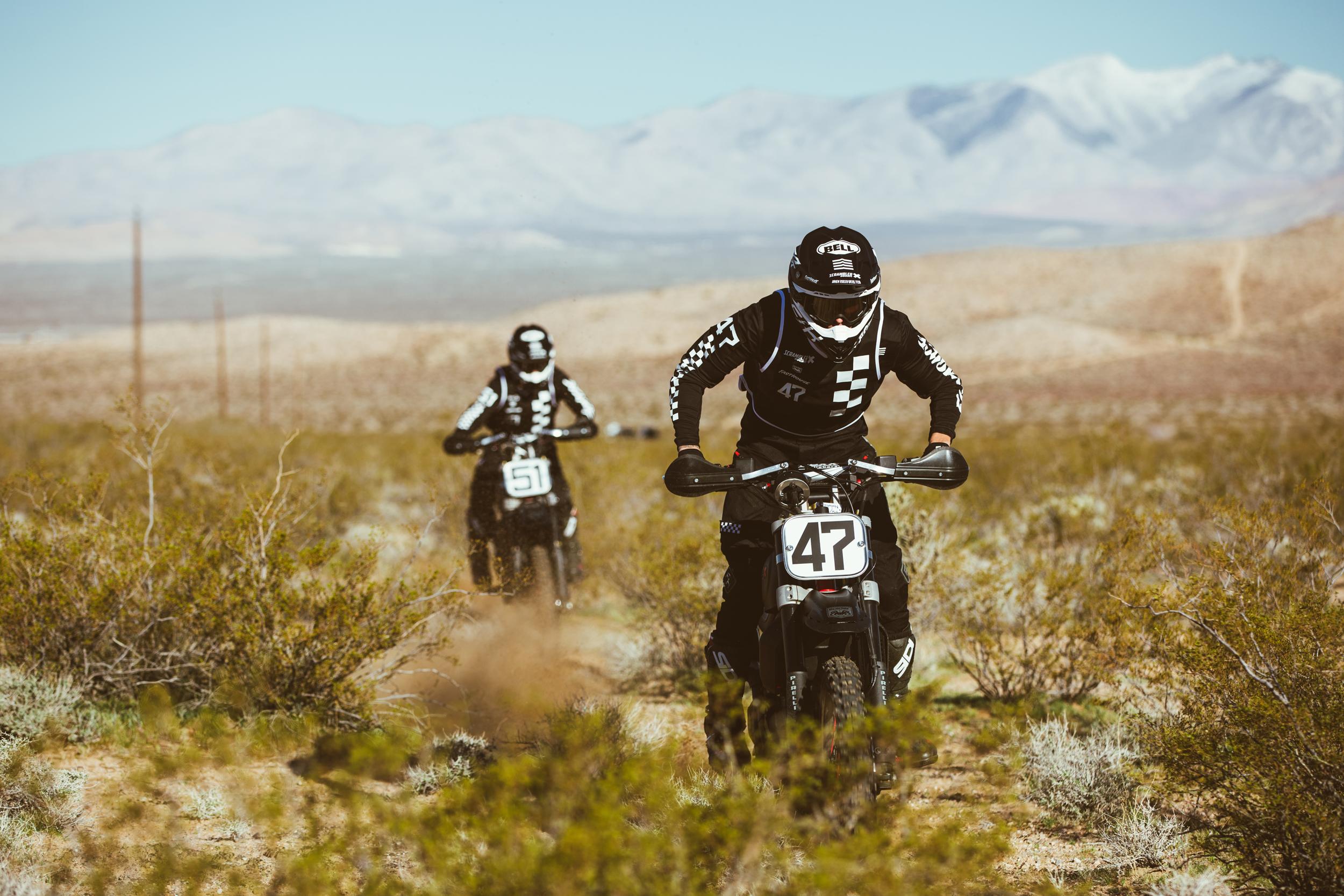 Scrambler Ducati Desert Sled Dominates Inaugural Mint 400 Hooligan Class [2]
