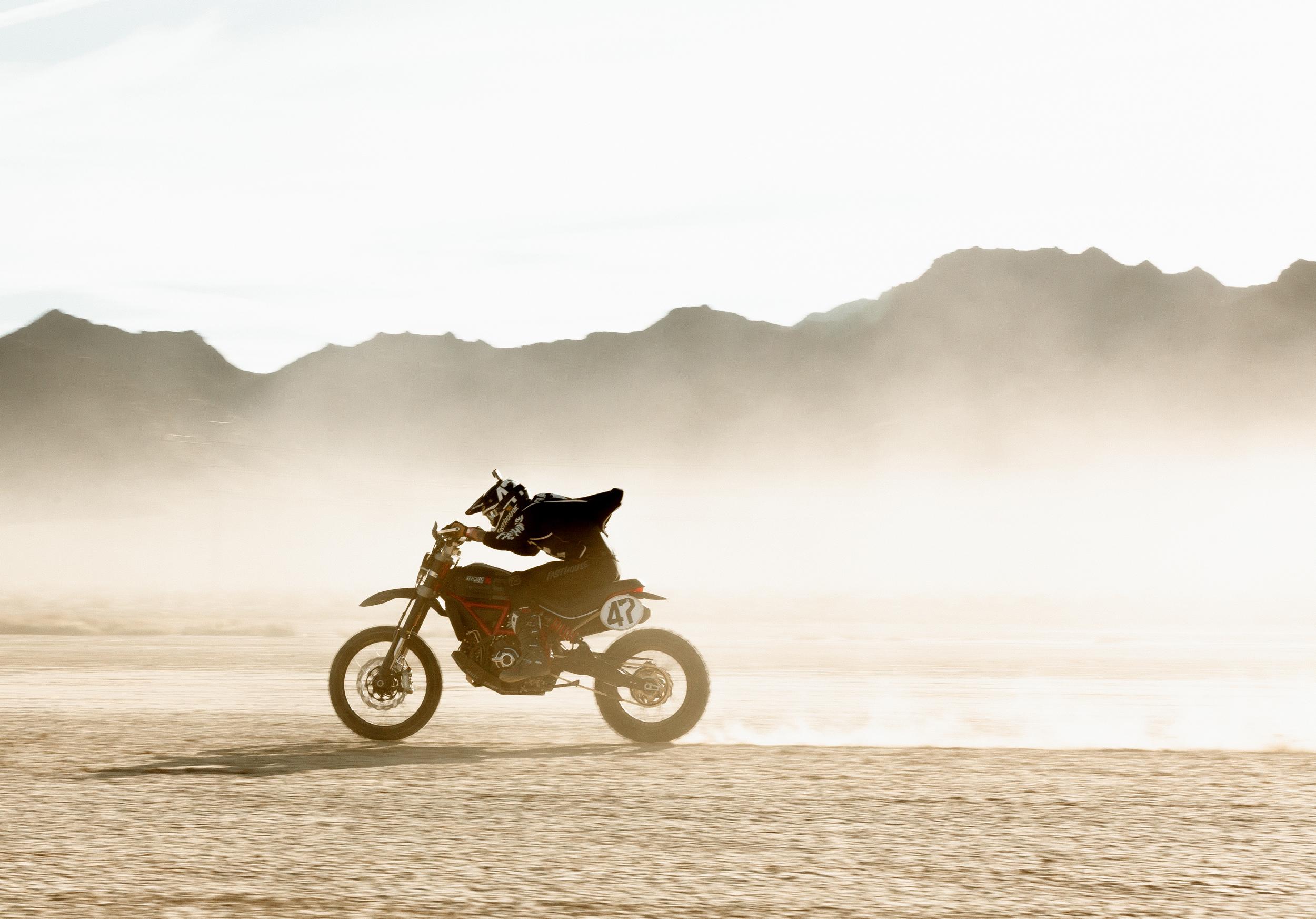 Scrambler Ducati Desert Sled Dominates Inaugural Mint 400 Hooligan Class [3]