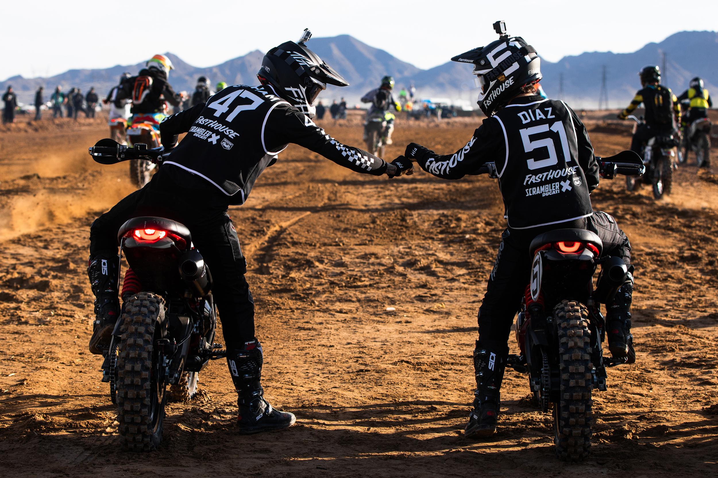 Scrambler Ducati Desert Sled Dominates Inaugural Mint 400 Hooligan Class [4]