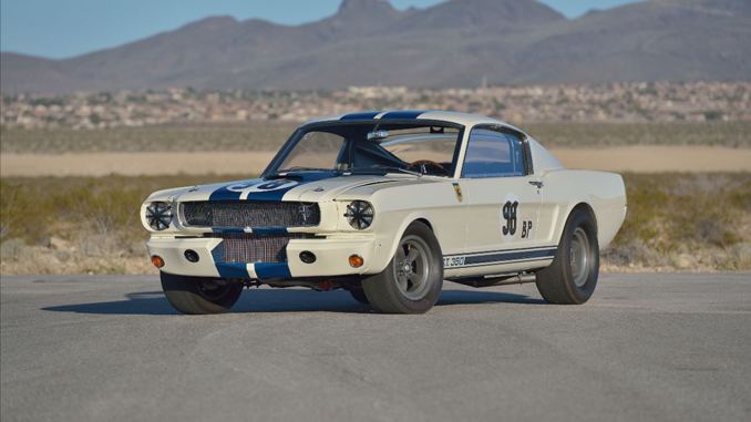 Shelby 5R002 - The first R-Model competition car produced and the first Shelby Mustang to win a race [678]