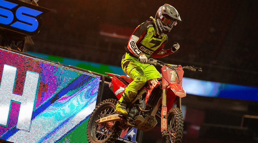 sexton wins Atlanta 250SX
