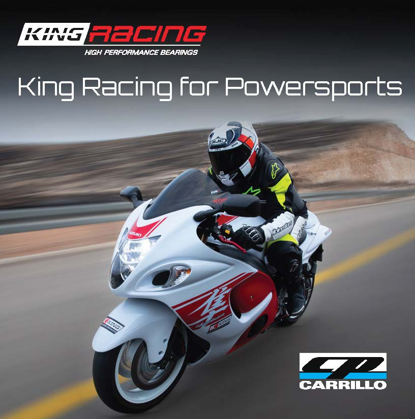 200406 CP-Carrillo Introduces King Bearings for Powersports Applications