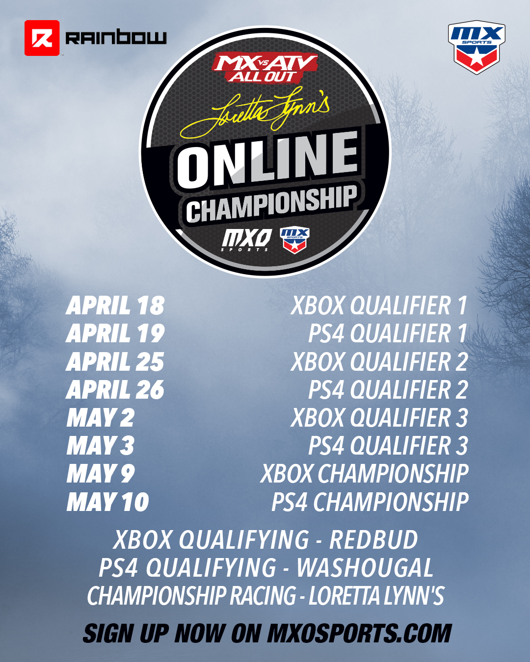2020 Loretta Lynn's MX vs. ATV Online Championship