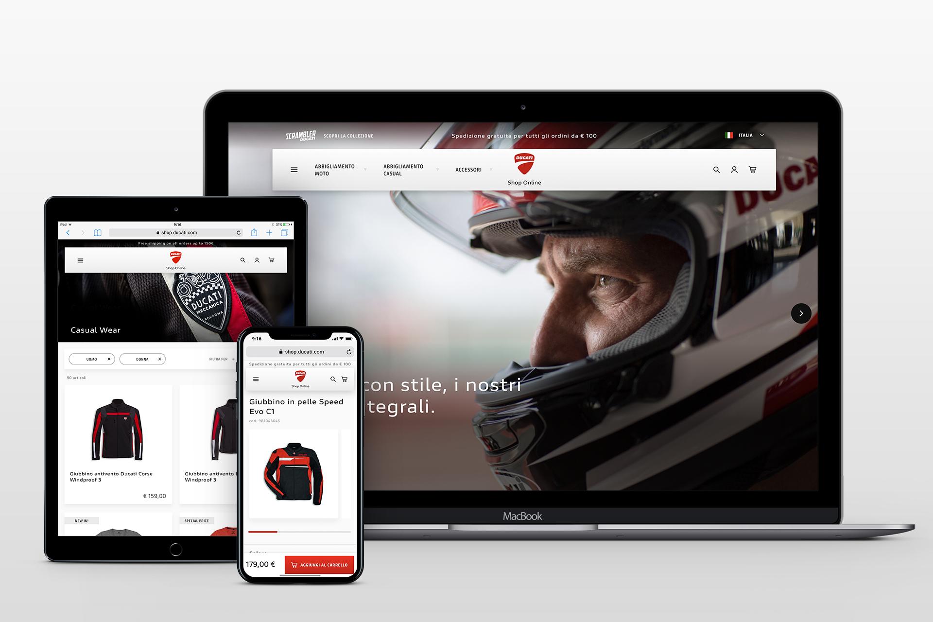 200422 Ducati E-shop