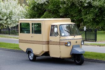 1978 Piaggio Ape Limousine (Courtesy of RM Sotheby's)