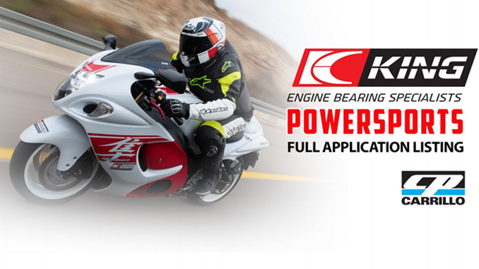 CP-Carrillo Introduces King Bearings for Powersports Applications (678.1)