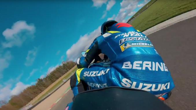 Team Suzuki Ecstar MotoGP Test Rider Sylvain Guintoli (678)