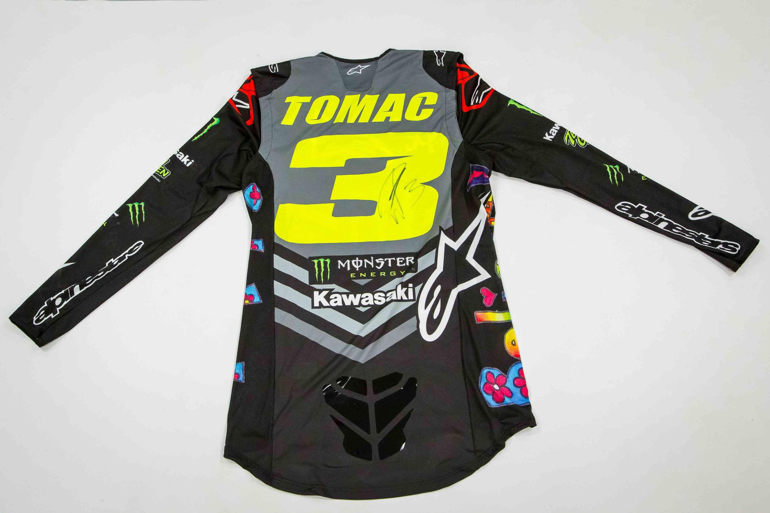 200501 St. Jude - Eli Tomac's race-worn gear