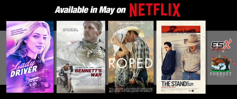 200507 Forrest Films Debuts on Netflix With Four Feature Titles