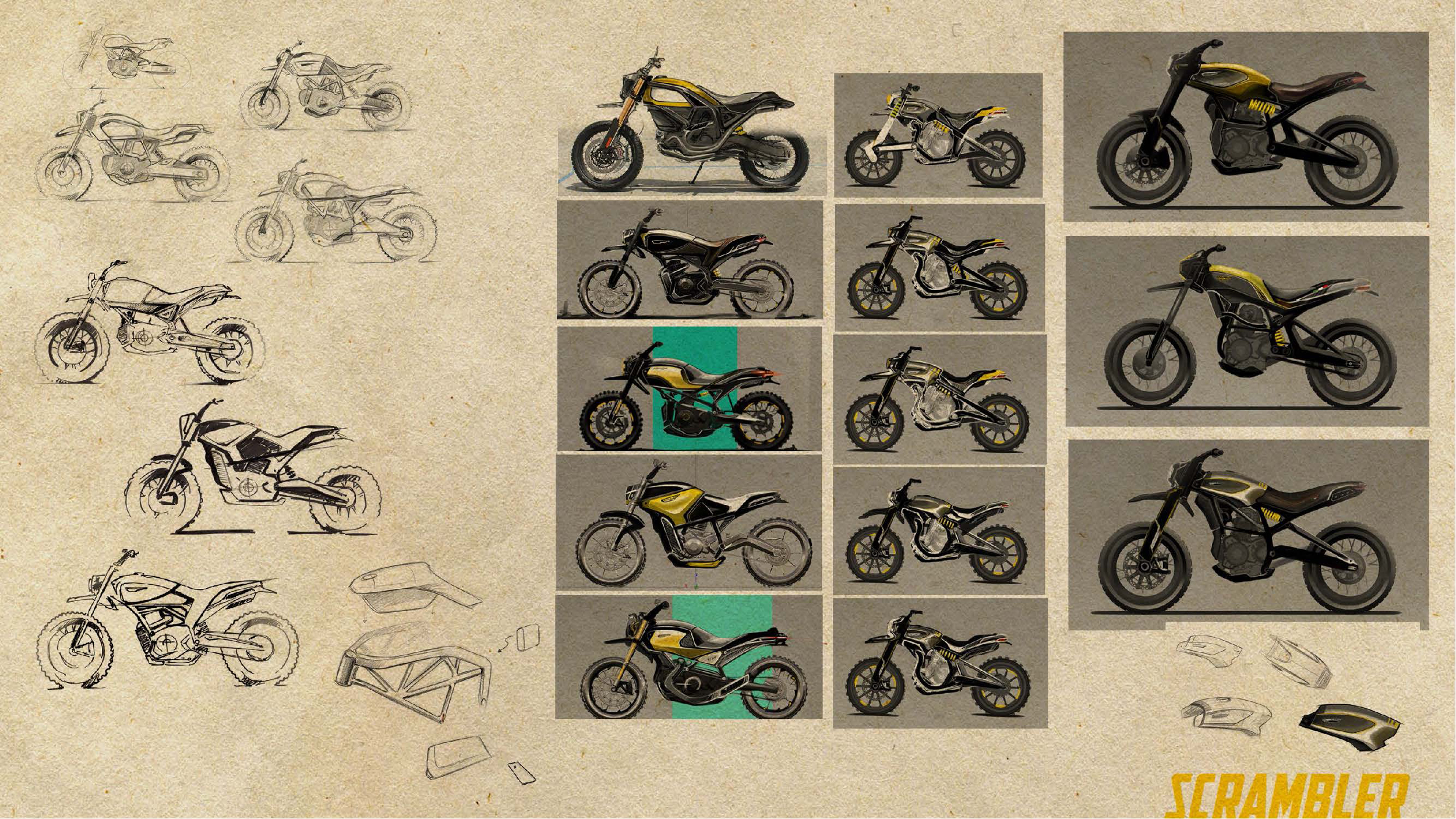 200511 Scrambler Ducati of the future - sketches by Peter Harkins (4)