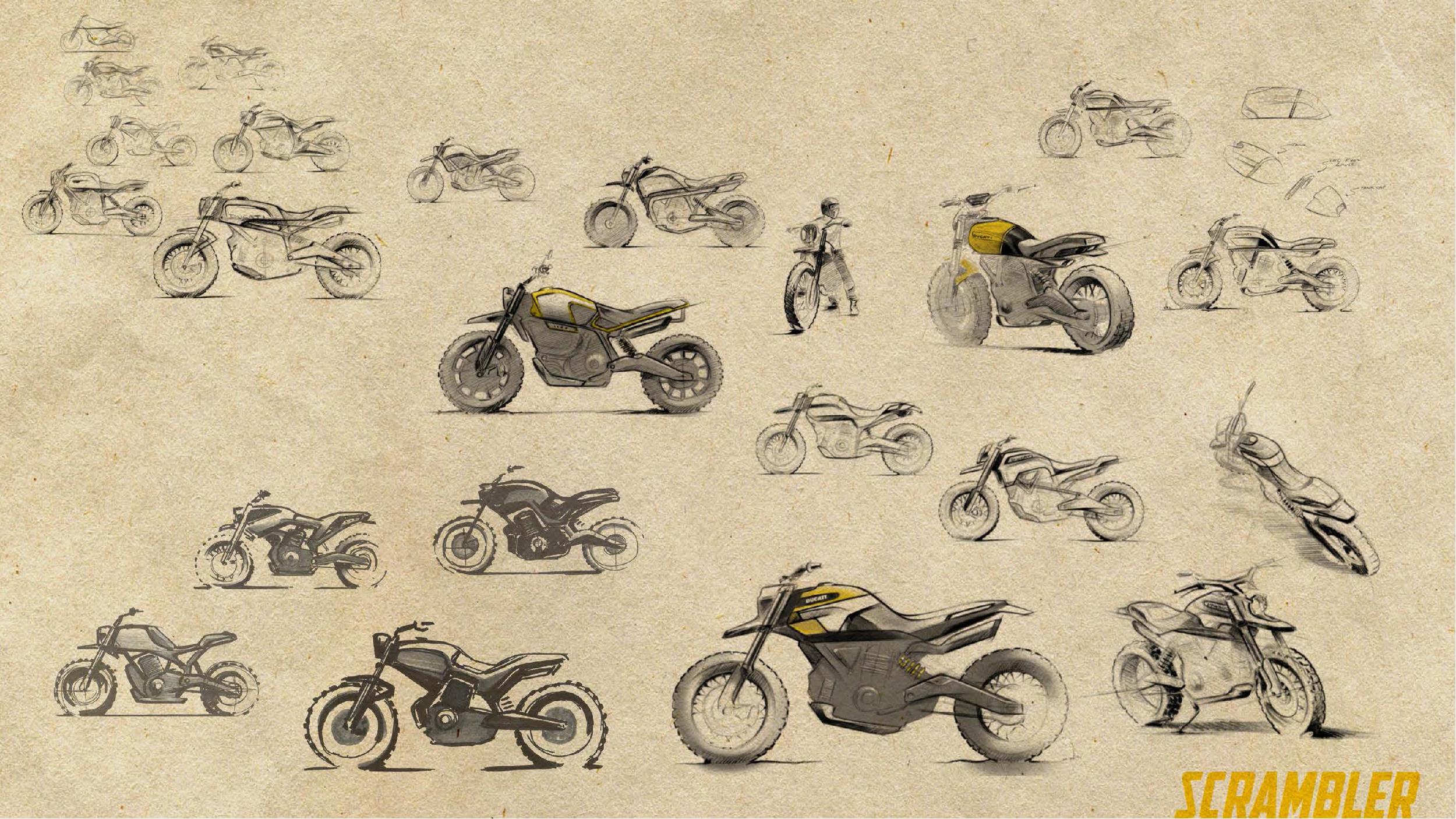 200511 Scrambler Ducati of the future - sketches by Peter Harkins (5)