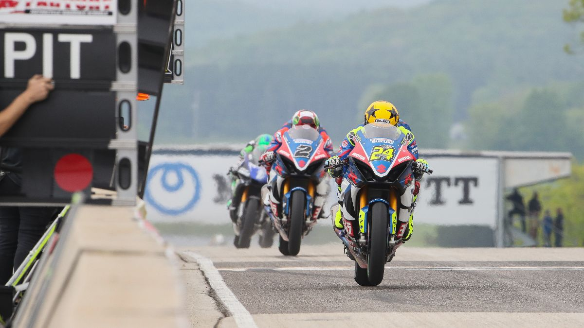 The opening round of the 2020 MotoAmerica Series will be held without fans at Road America
