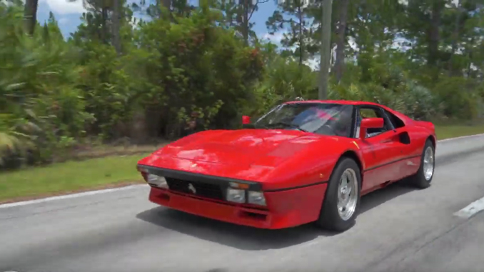 200520 A still from RM Sotheby's newly released footage of the Ferrari 288 GTO driven by Car Specialist Donnie Gould (© 2020 Courtesy of RM Sotheby's) (678)