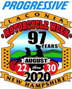 2020 Progressive Laconia Motorcycle Week logo