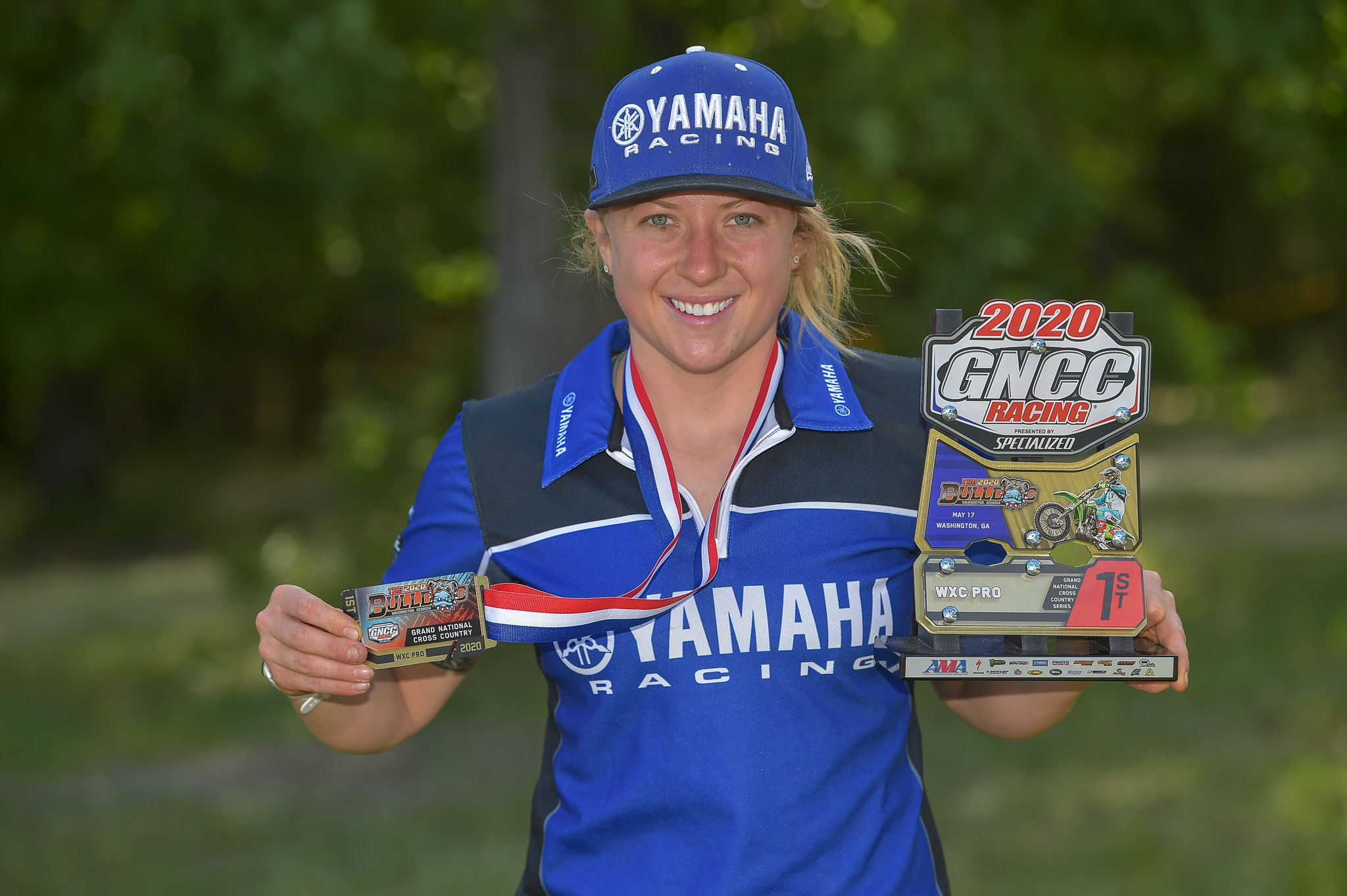 Becca Sheets, WXC motorcycle class leader (2)