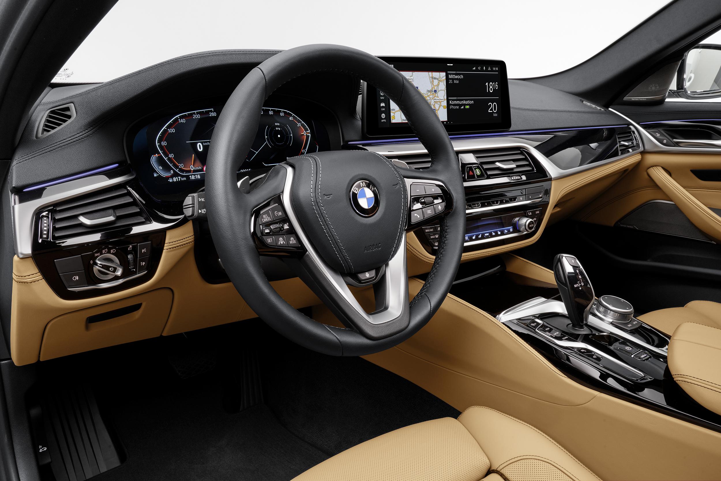 The new BMW 540i Sedan (1)