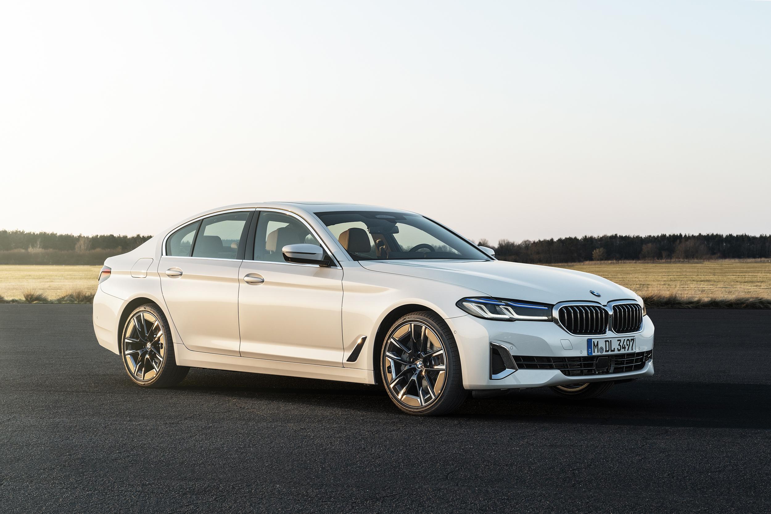 The new BMW 540i Sedan